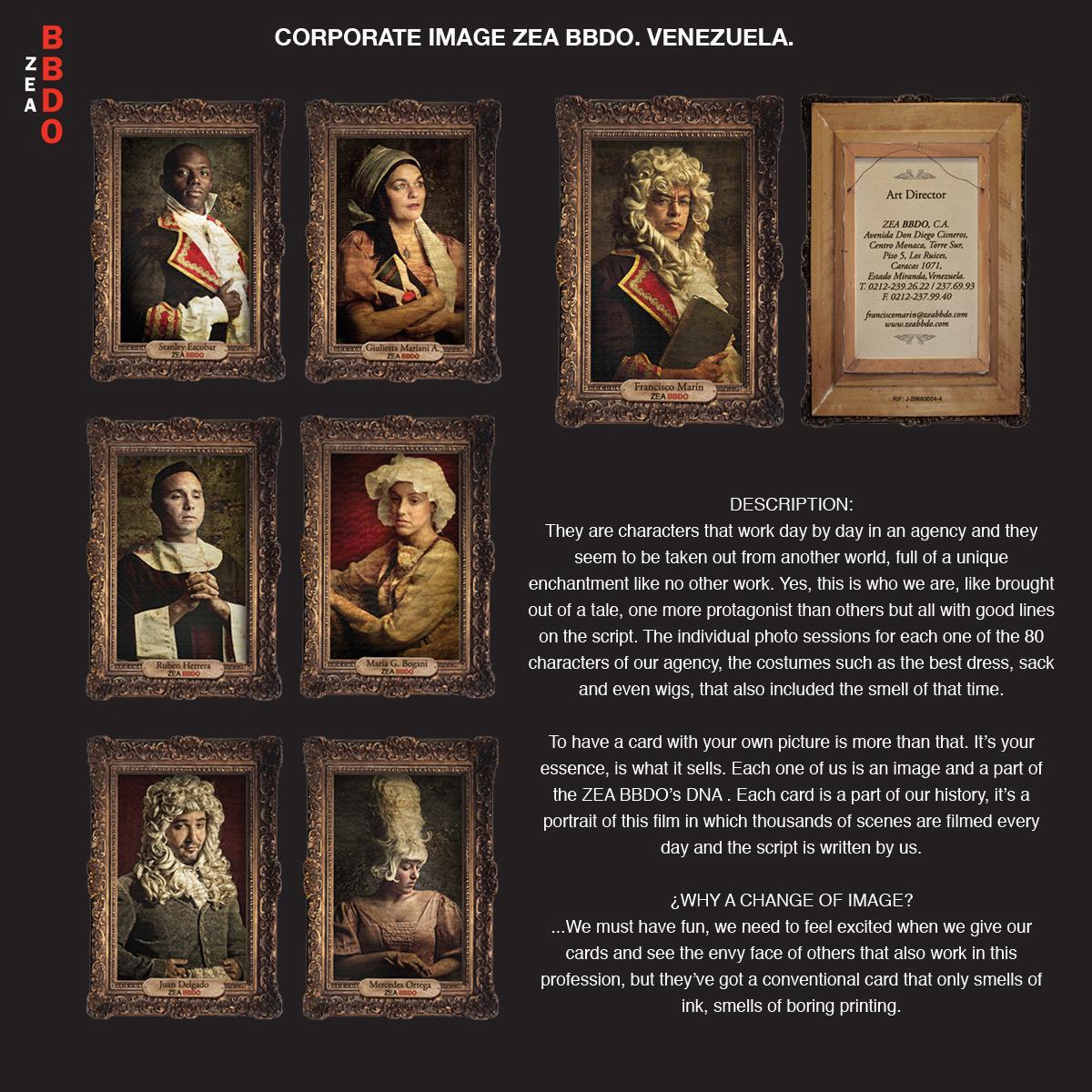 ZEA BBDO Direct Ad -  Corporate Image