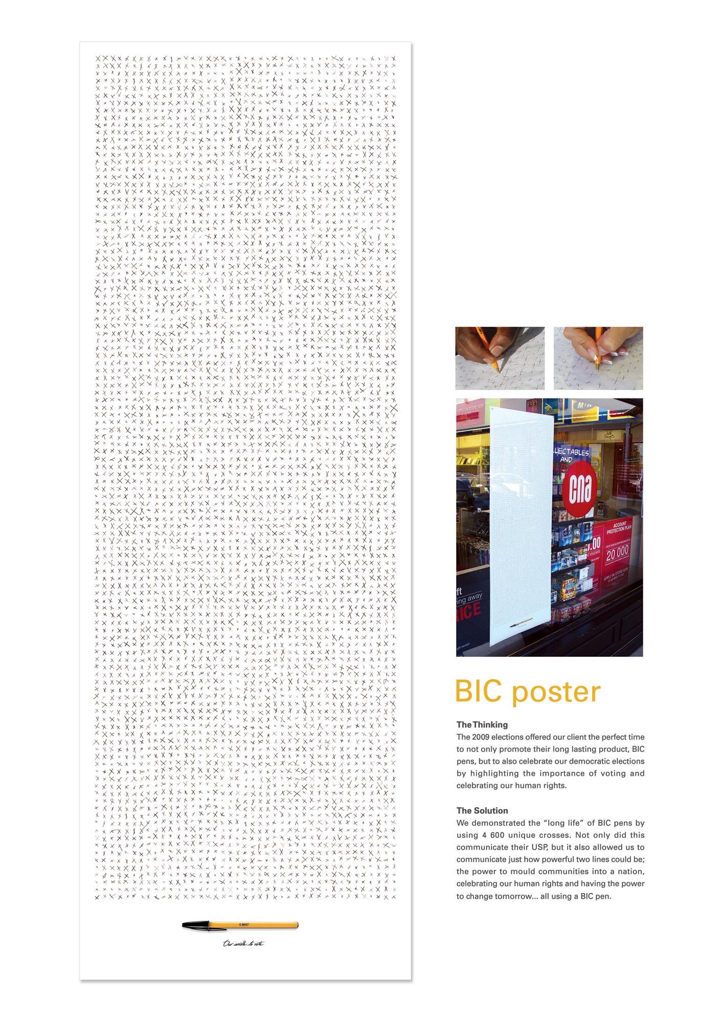 BIC Outdoor Ad -  Write to Vote
