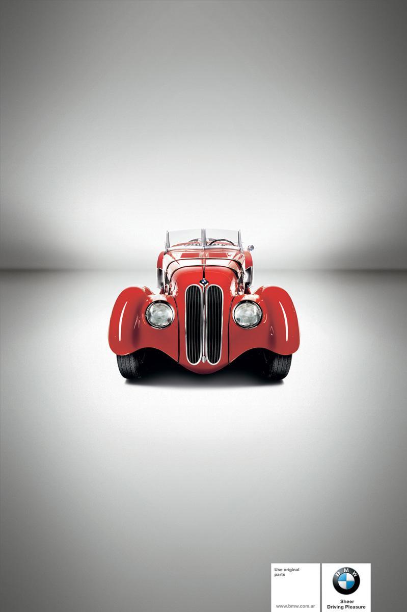 BMW Print Ad -  1936