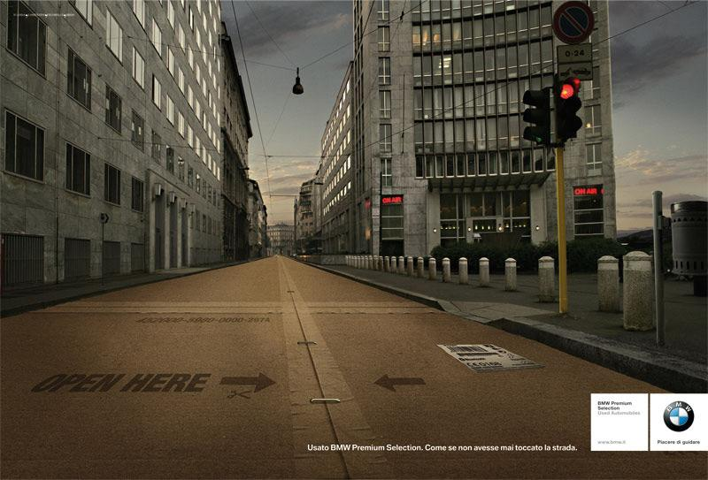 BMW Print Ad -  Street