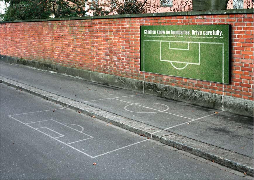 BSW Ambient Ad -  Soccer