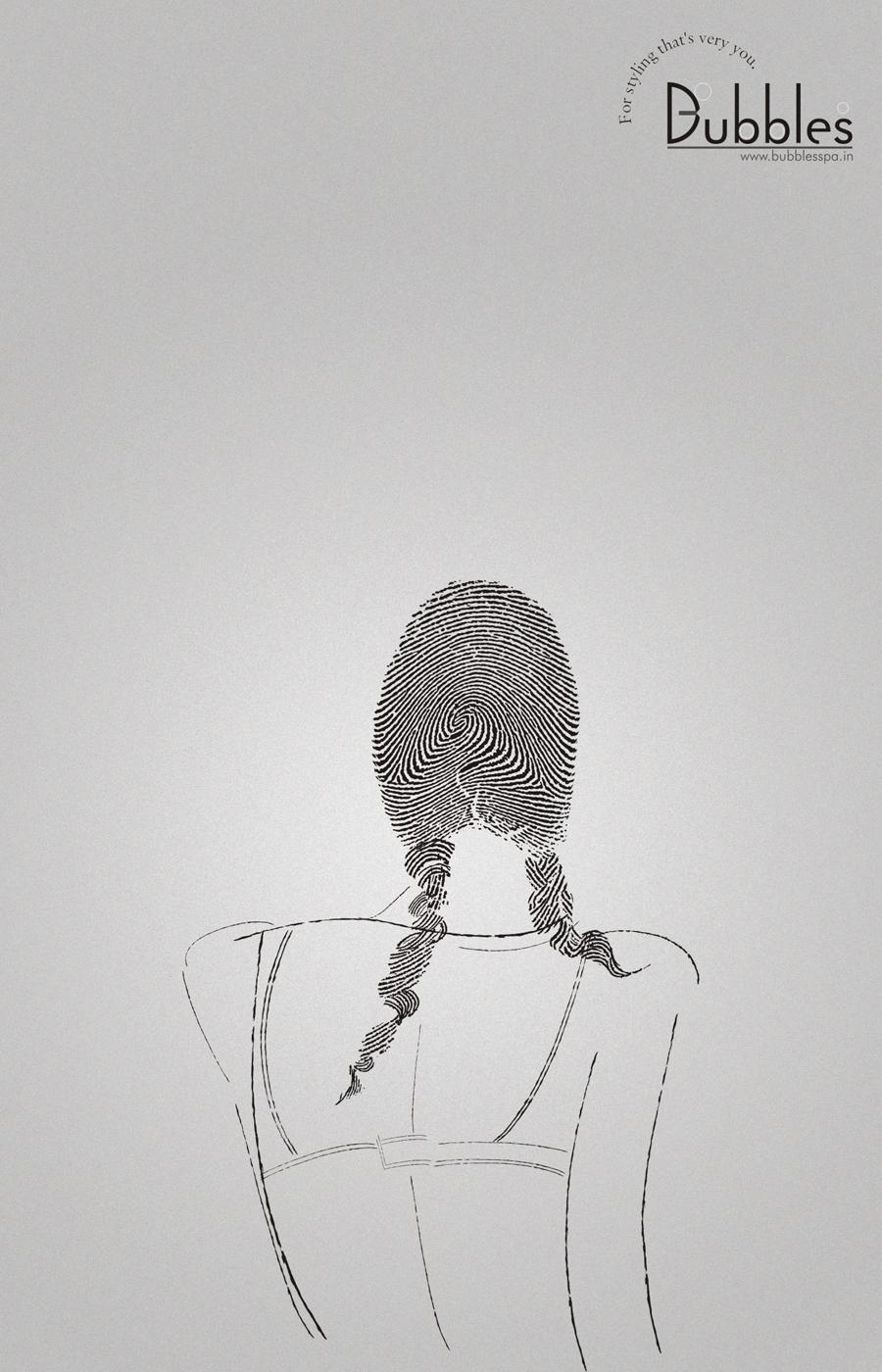 Bubbles Print Ad -  Fingerprint, 3