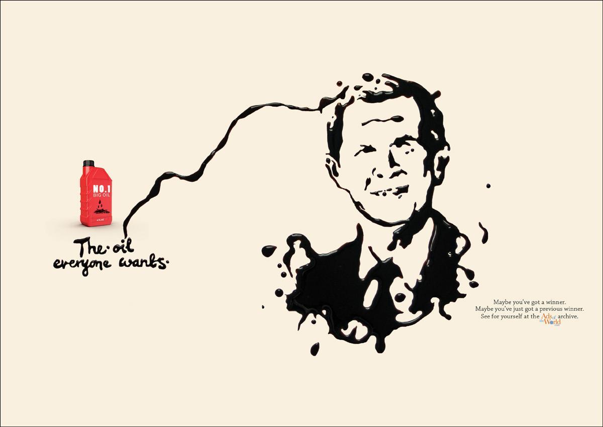 Ads of the World Print Ad -  Bush