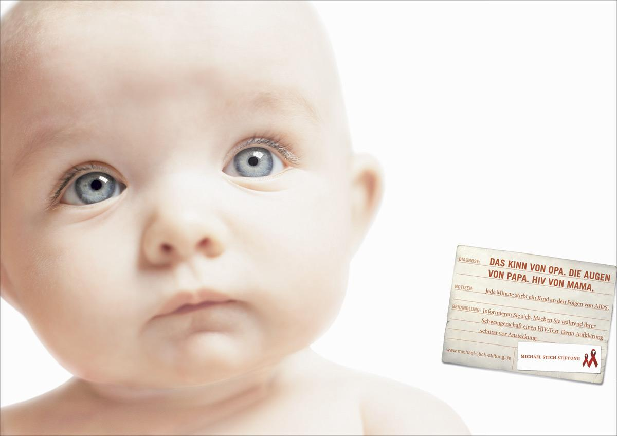 Michael Stich Stiftung Print Ad -  Baby