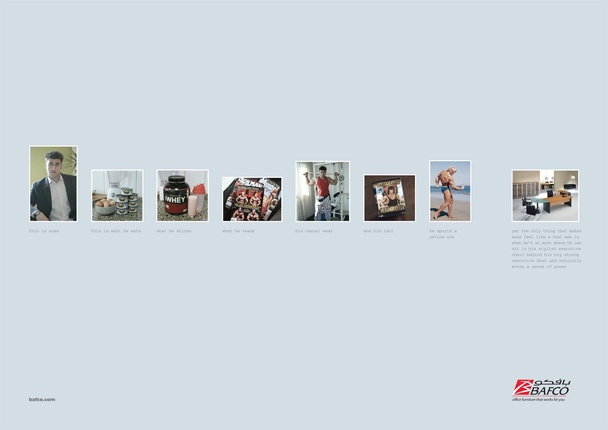 BAFCO Print Ad -  Anas