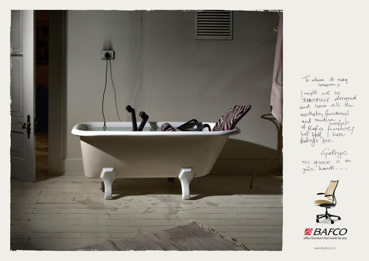 BAFCO Print Ad -  Bath