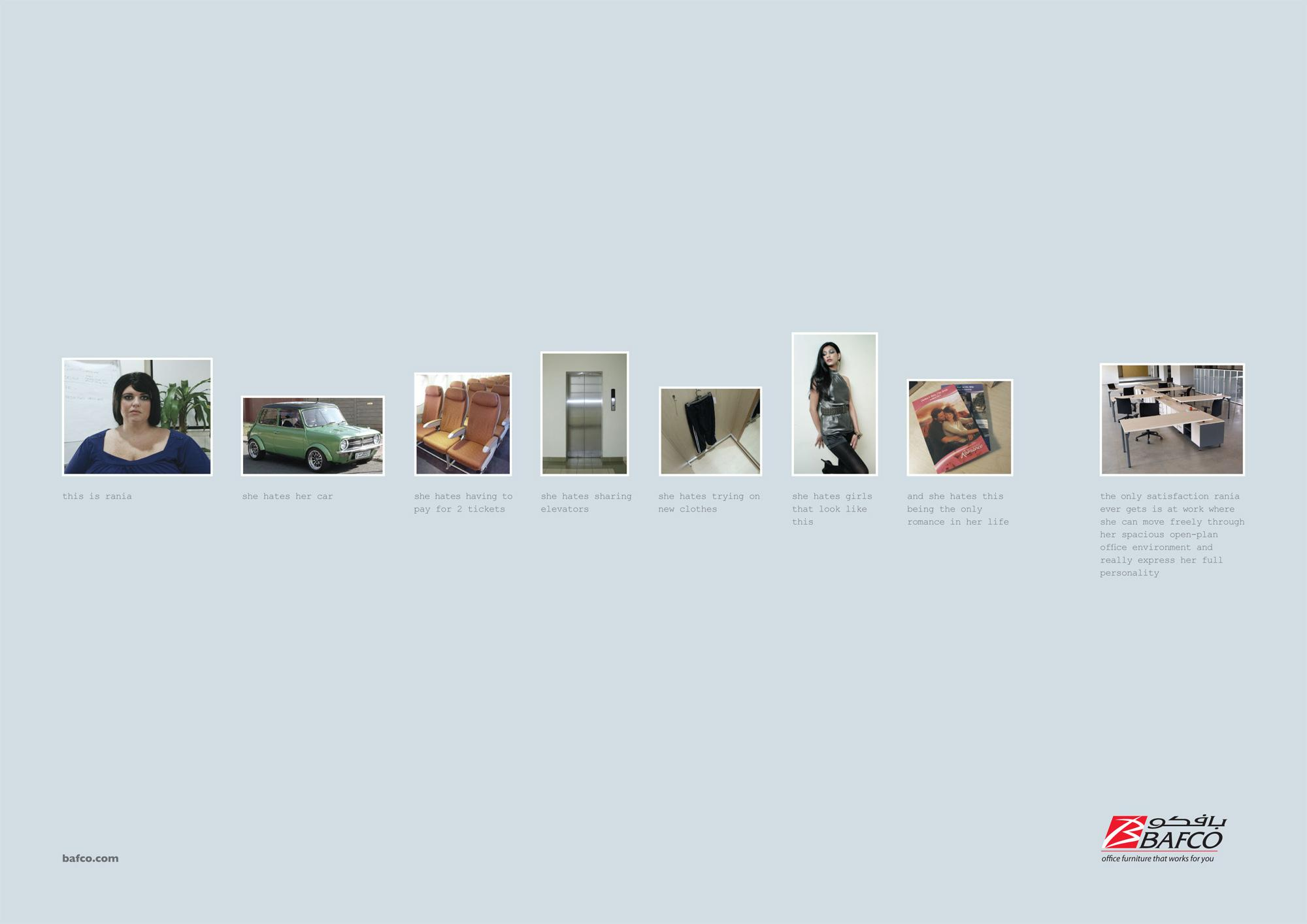 BAFCO Print Ad -  Rania