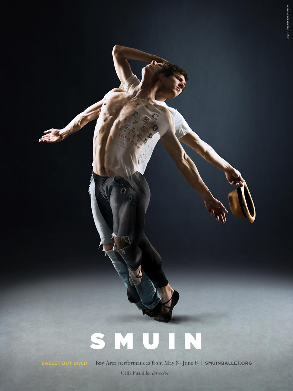 Smuin Ballet Company Outdoor Ad -  Ballet But Bold