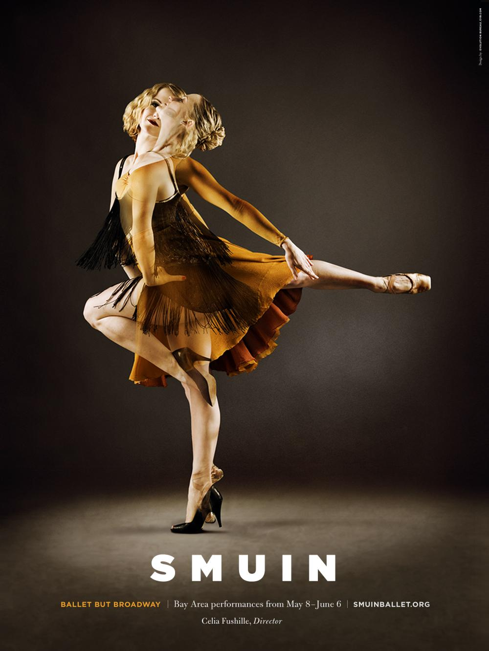 Smuin Ballet Company Outdoor Ad -  Ballet But Broadway