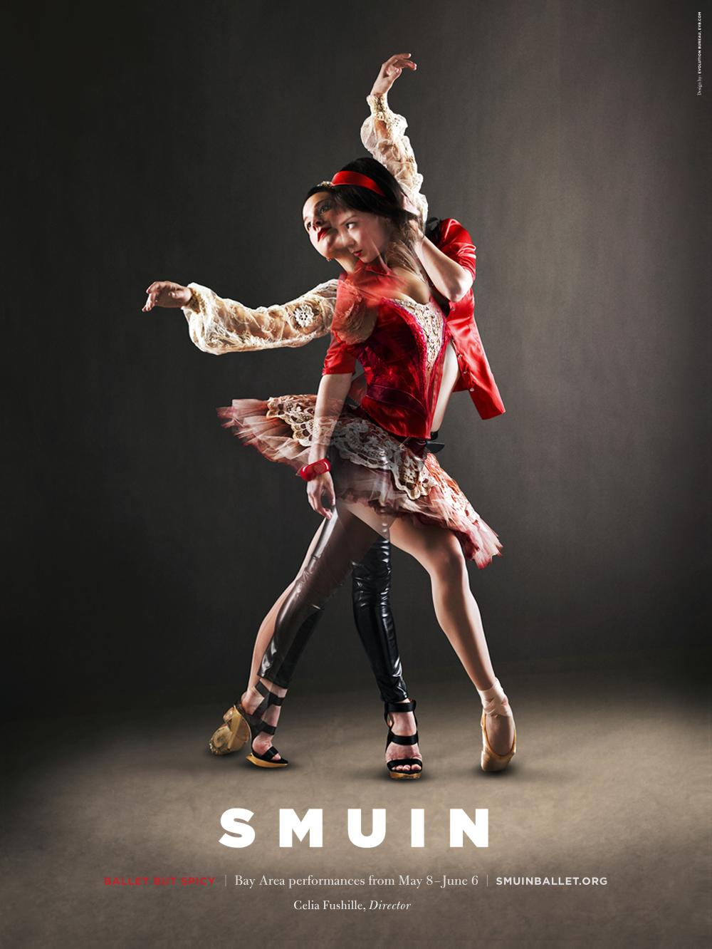 Smuin Ballet Company Outdoor Ad -  Ballet But Spicy