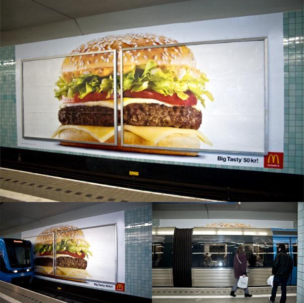 McDonald's Outdoor Ad -  Big Tasty