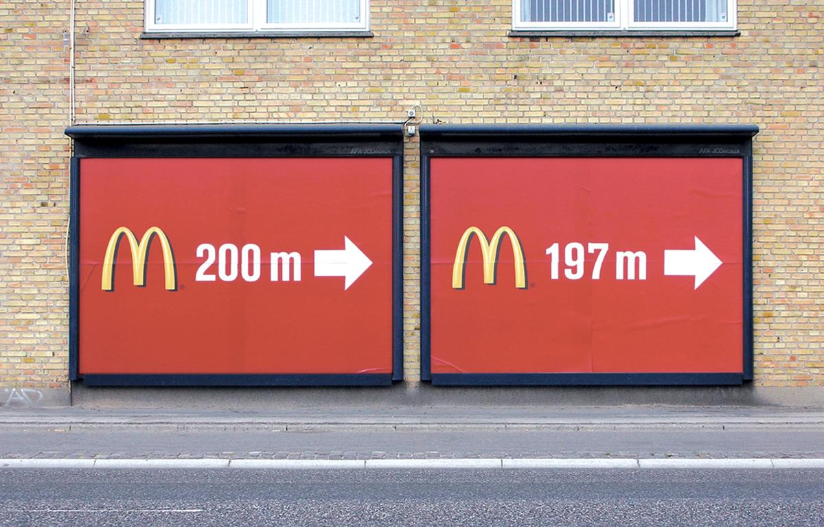 McDonald's Outdoor Ad -  Billboards 200m-197m
