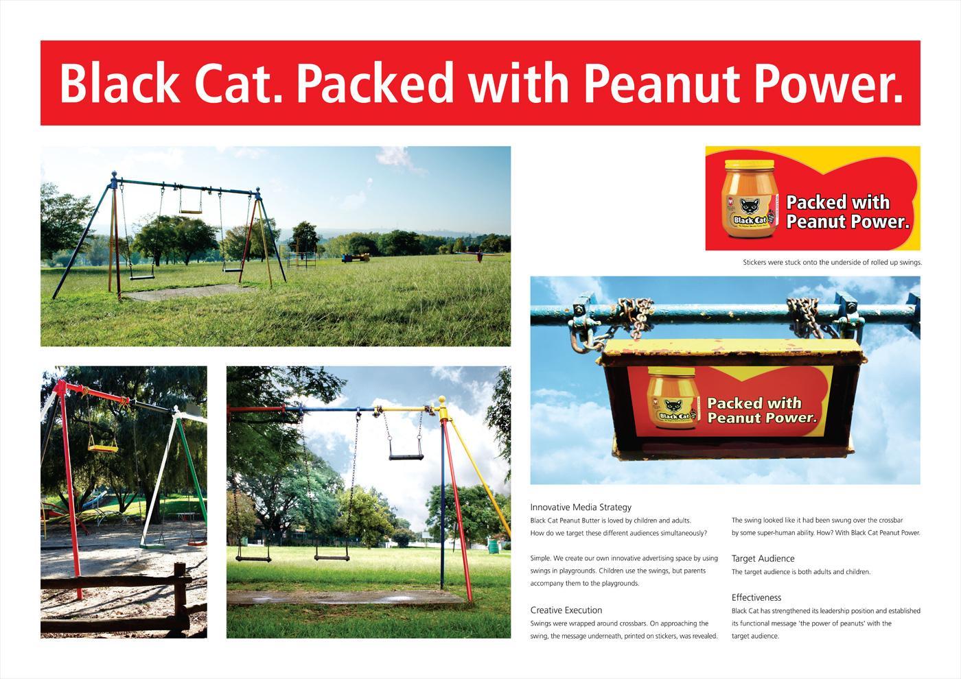 Black Cat Ambient Ad -  Swing