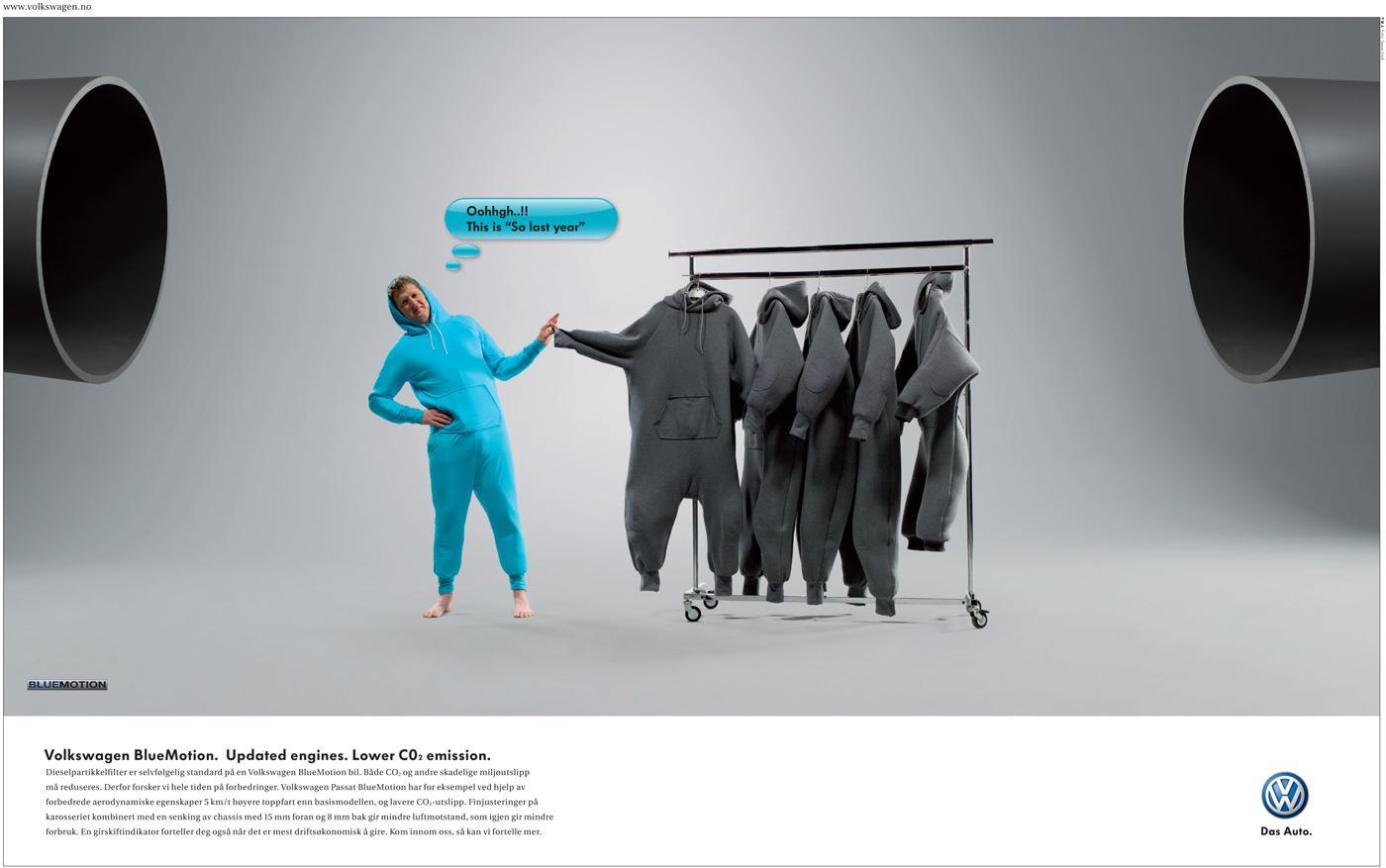 Volkswagen Print Ad -  Last year