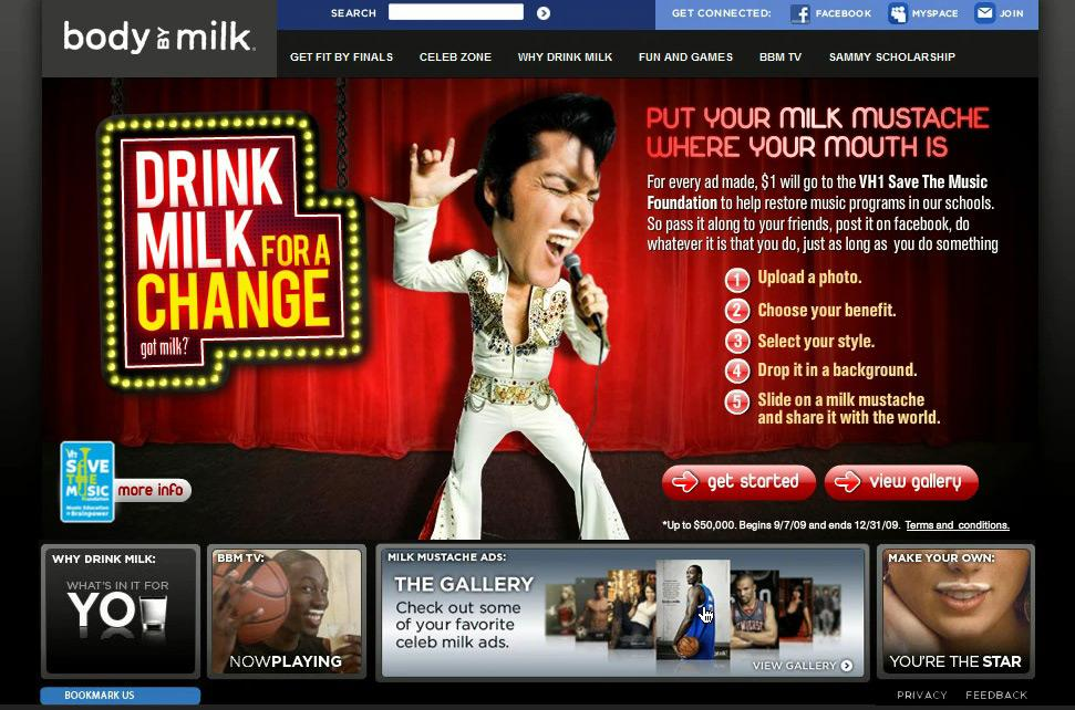 MilkPEP Digital Ad -  Drink Milk for a Change