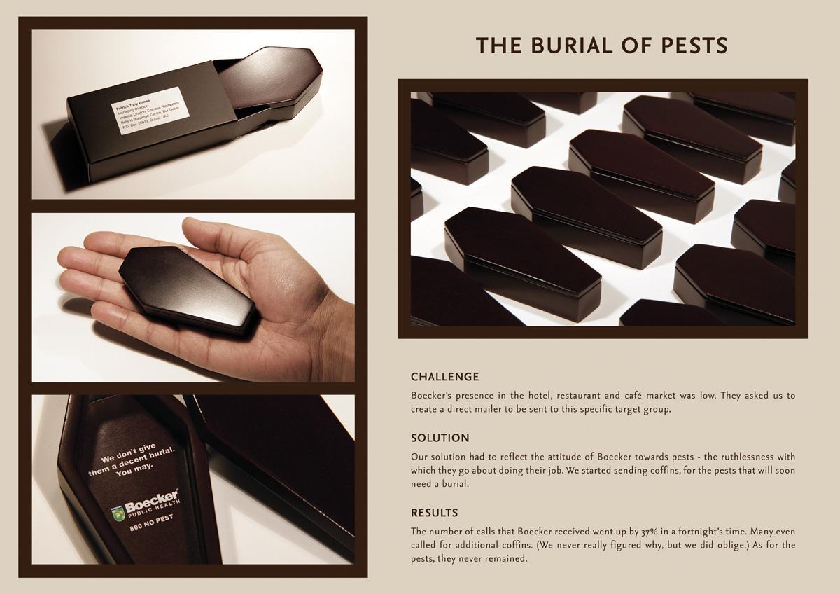 Boecker Ambient Ad -  Coffins