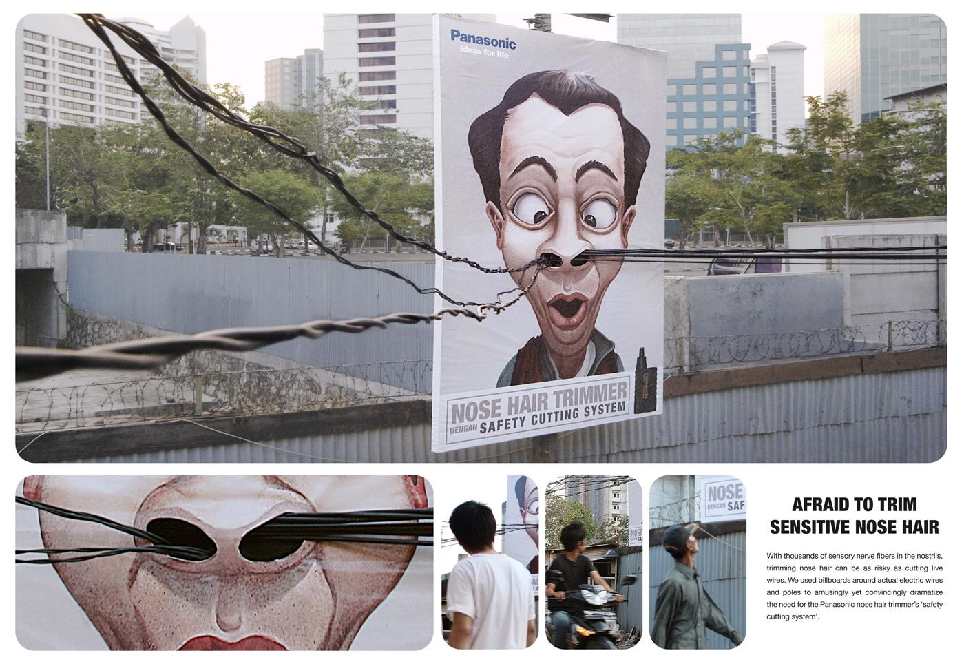 Panasonic Outdoor Ad -  Borat