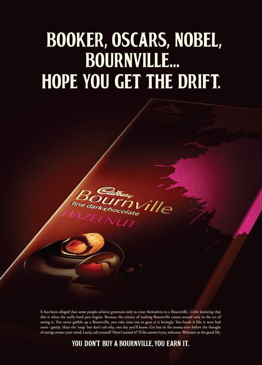 Cadbury Print Ad -  Oscars