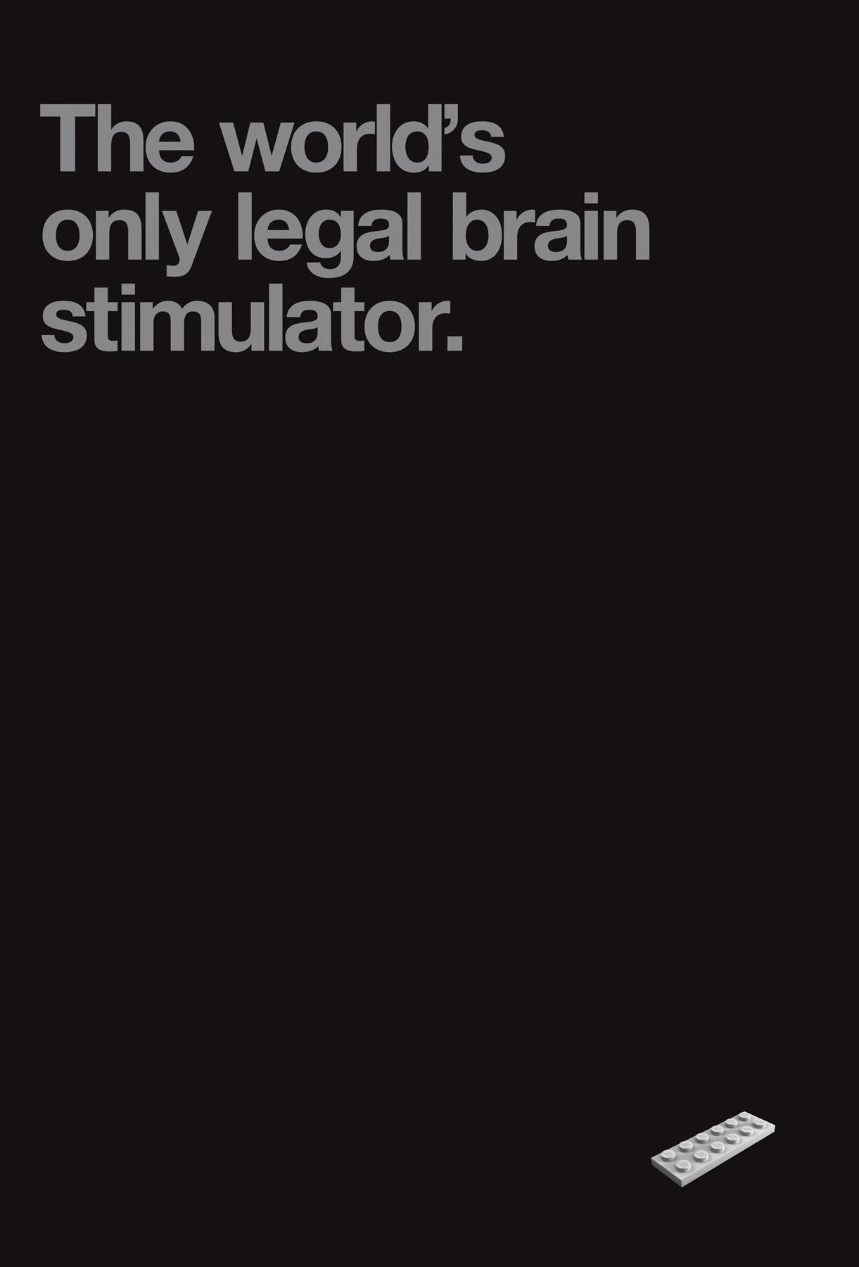 Lego Print Ad -  Brain Stimulator
