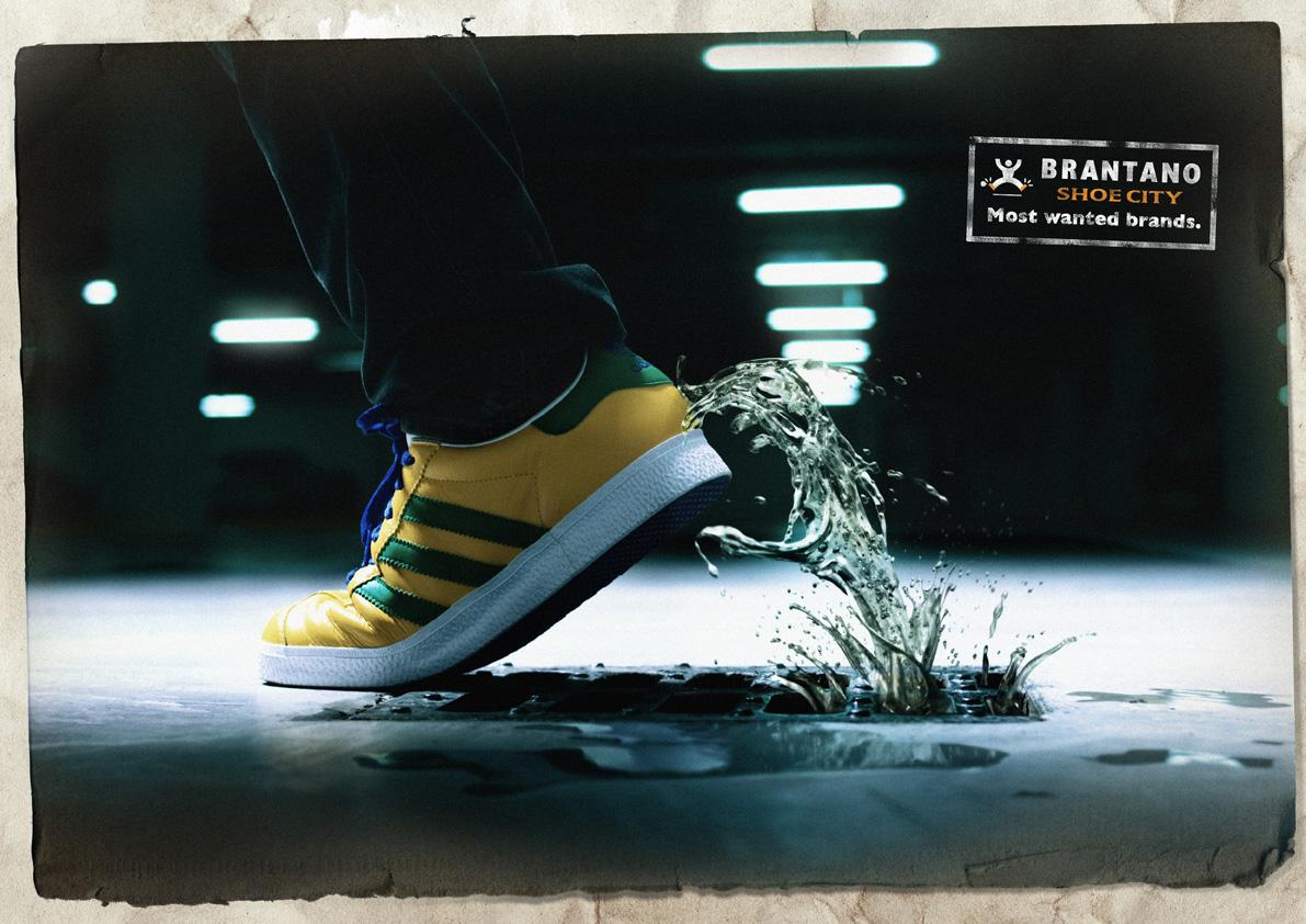 Brantano Shoe City Print Ad -  Water