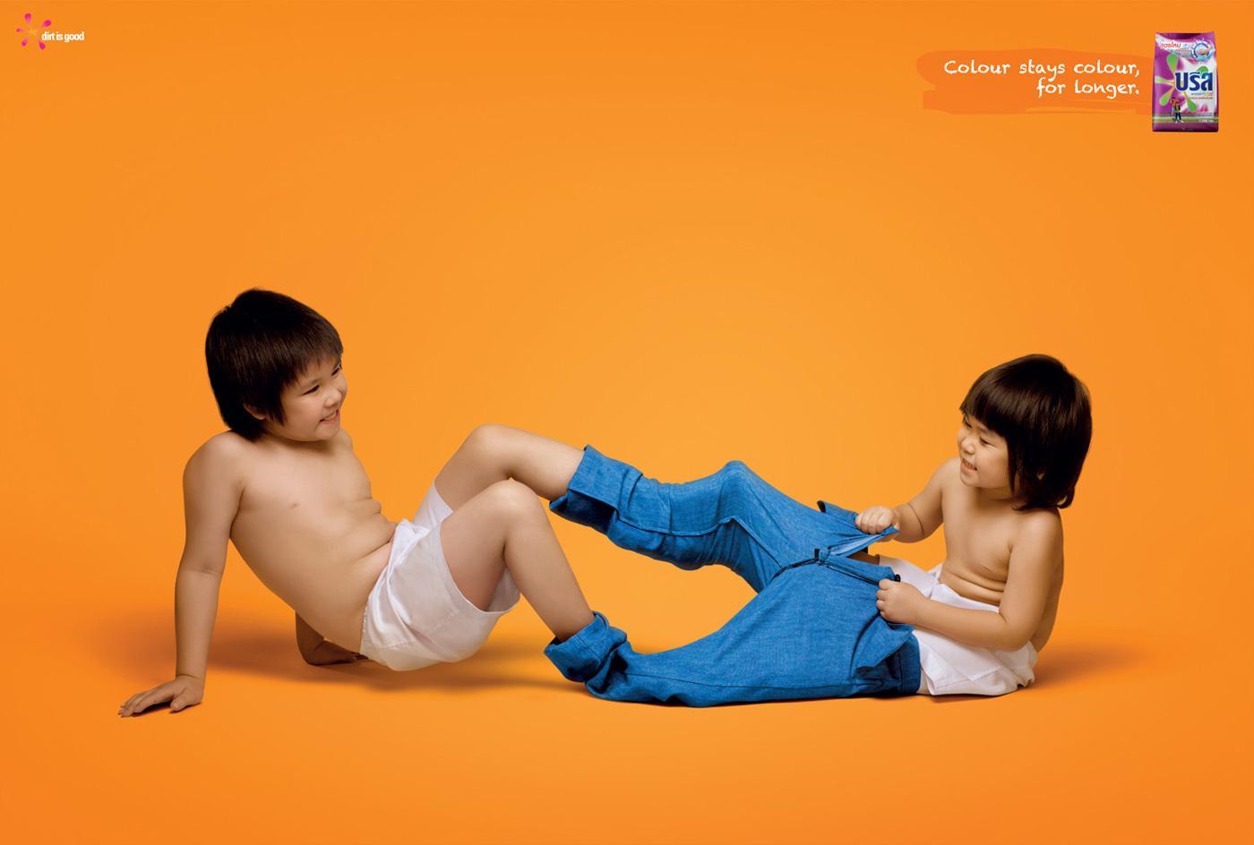 Breeze Print Ad -  Jeans