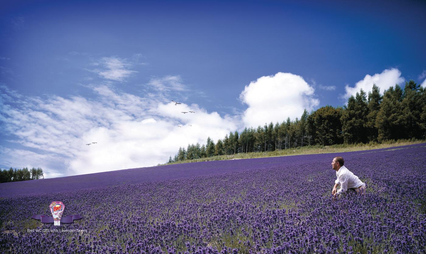 Bref Print Ad -  Lavender