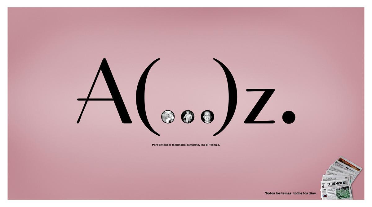 El Tiempo Print Ad -  Britney