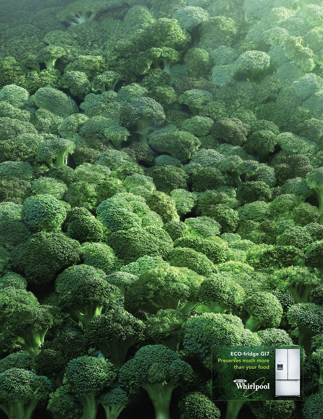 Whirlpool Print Ad -  Broccoli