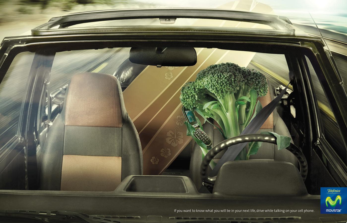 Telefónica Print Ad -  Broccoli