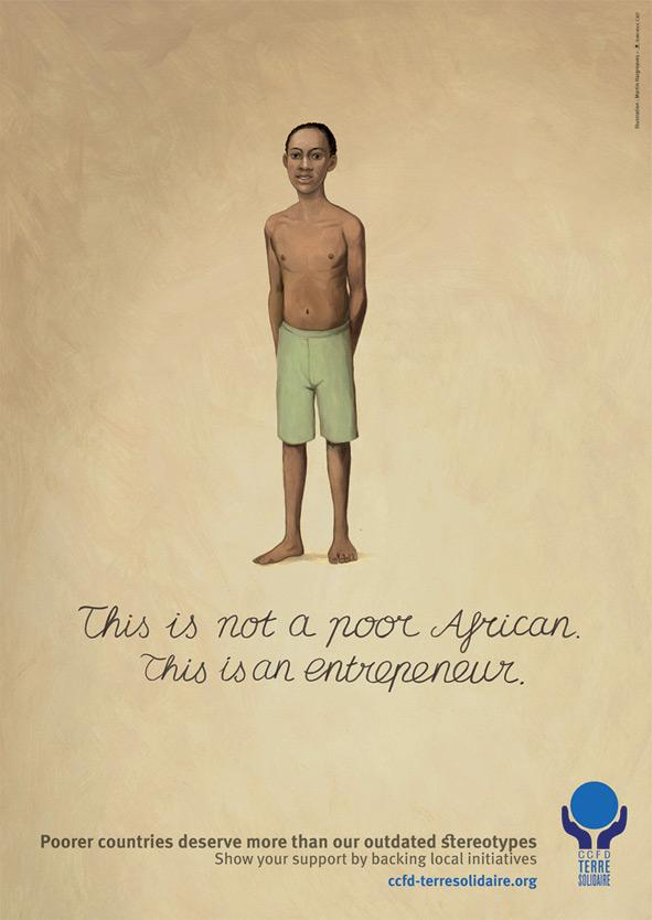 Terre Solidaire Print Ad -  Africa