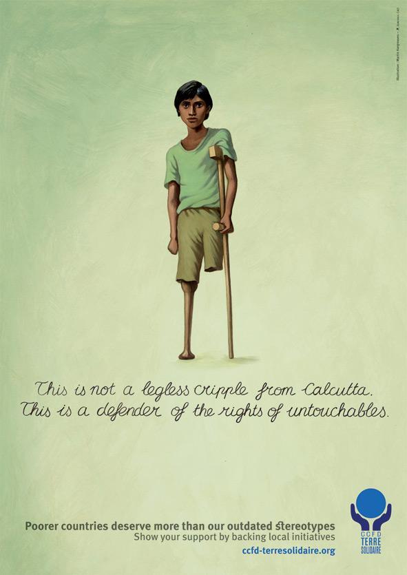 Terre Solidaire Print Ad -  Calcutta