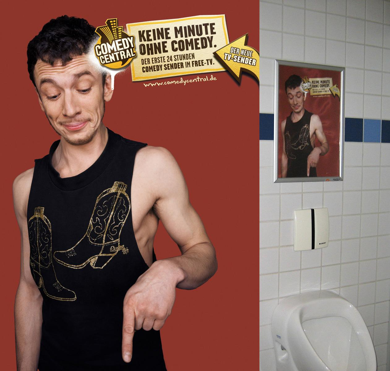 Comedy Central Print Ad -  Toilet, 4