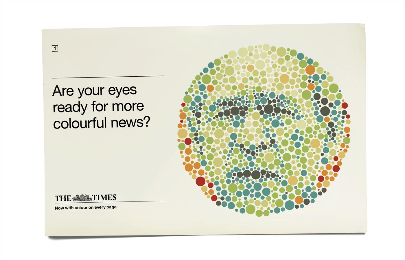 The Times Print Ad -  Bush