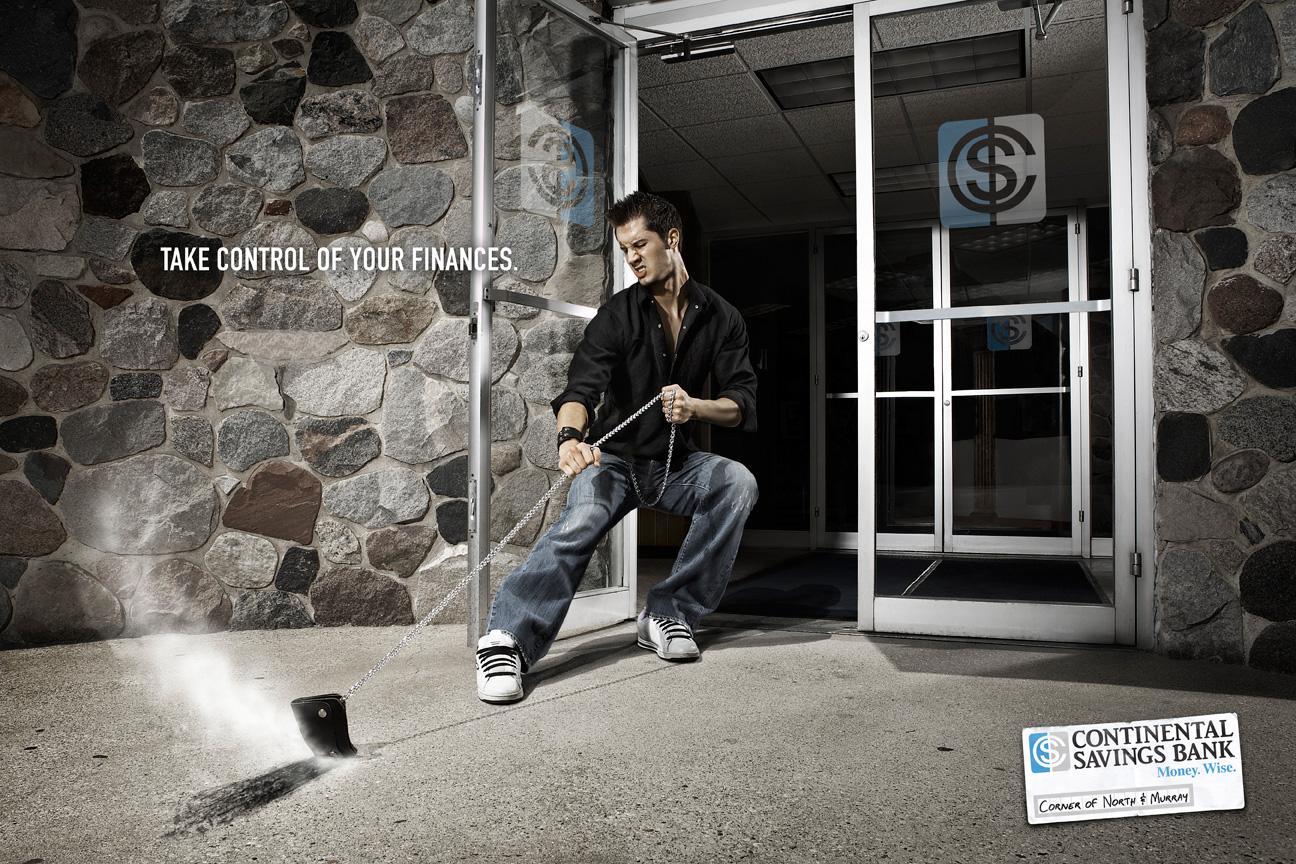 Continental Savings Bank Print Ad -  Wallet