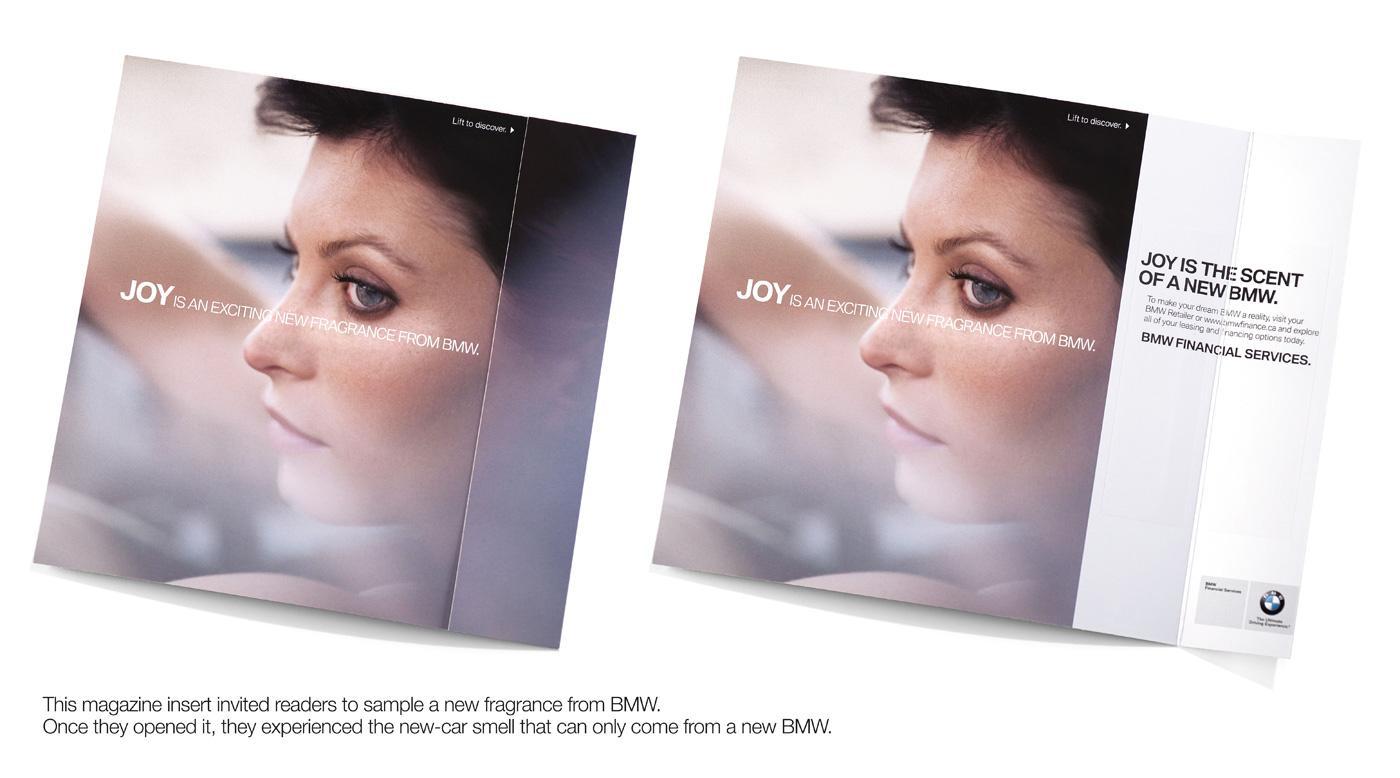 BMW Print Ad -  Scent