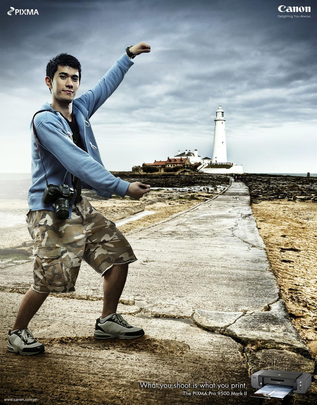 Canon Print Ad -  Lighthouse