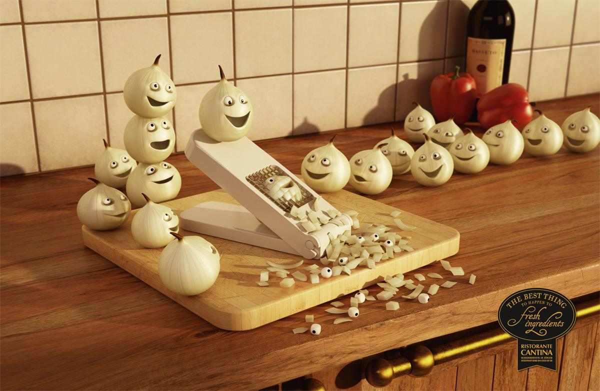 Ristorante Cantina Print Ad -  Onion