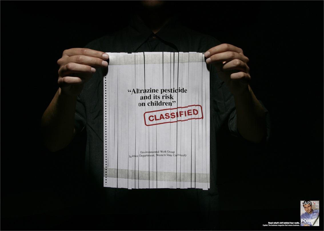 Capital Print Ad -  Classified