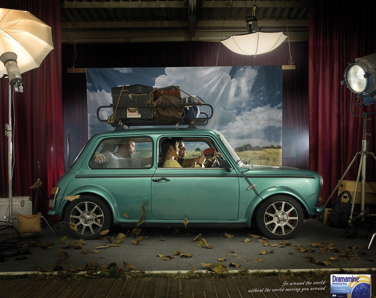 Dramamine Print Ad -  Car