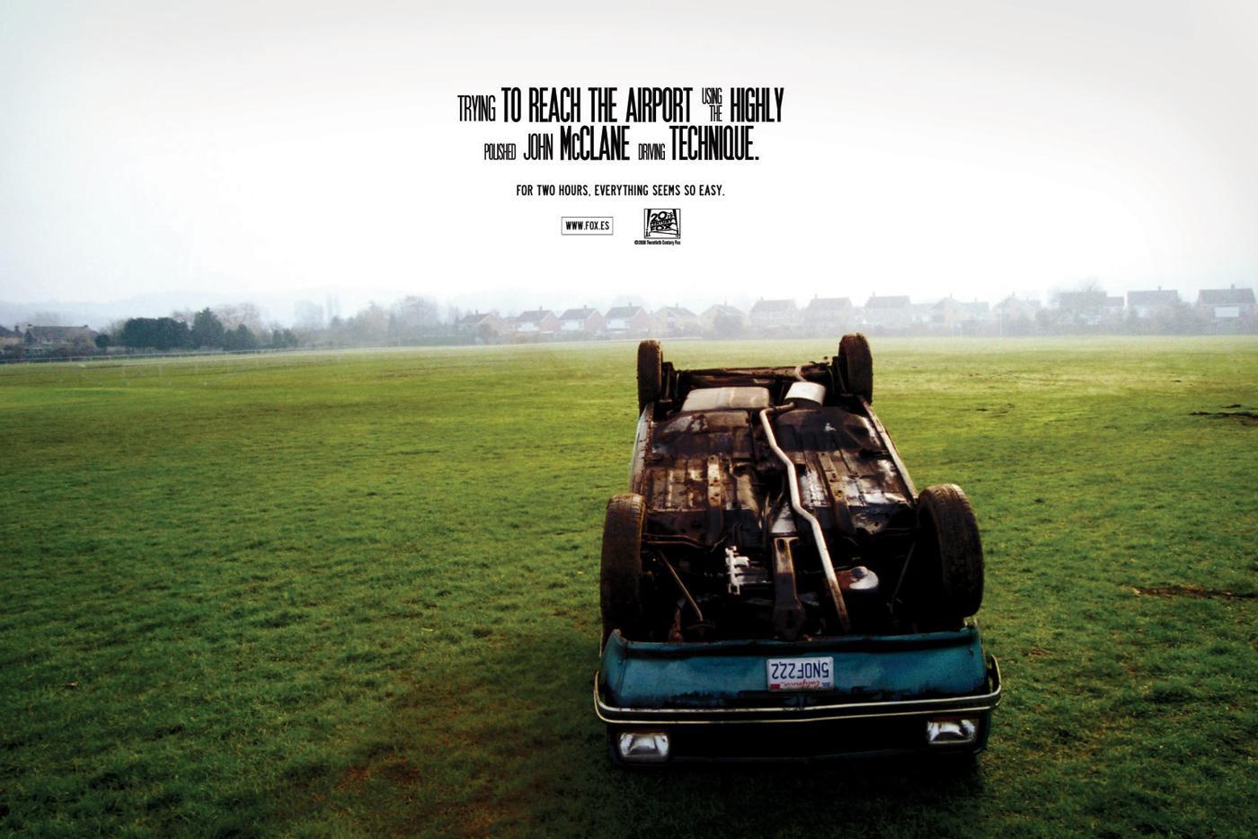 20th Century Fox Print Ad -  Car