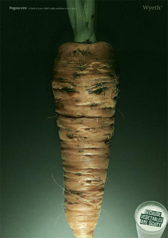 Wyeth Print Ad -  Carrot