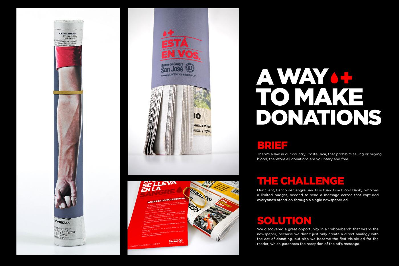 San Jose Blood Bank Direct Ad -  Blood Donation