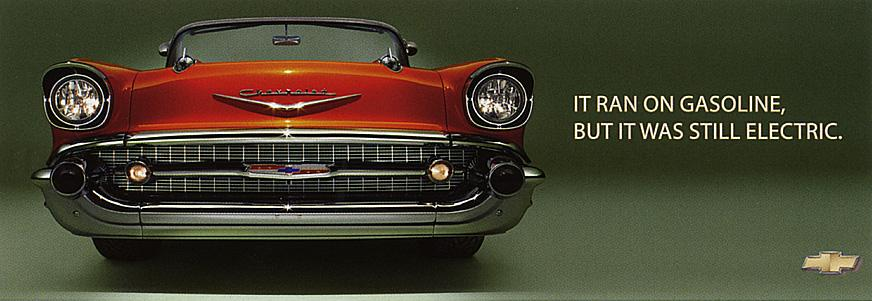 Chevrolet Print Ad -  Electric