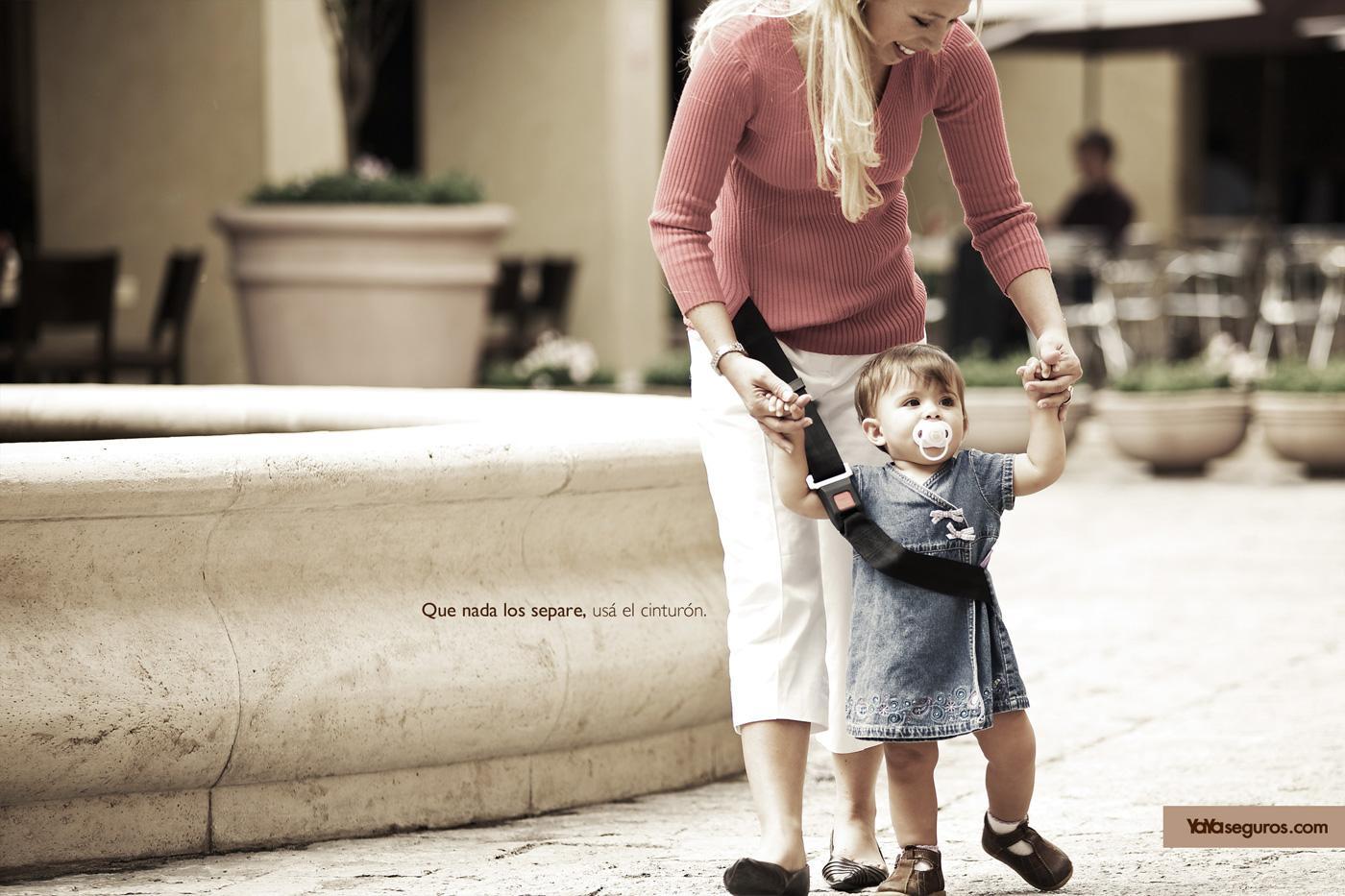 Yaya Print Ad -  Mom and child