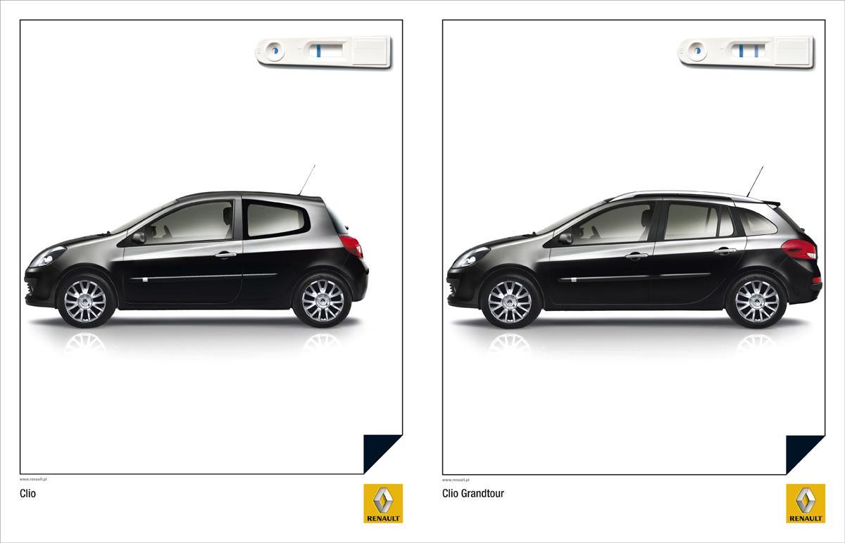 Renault Print Ad -  Test