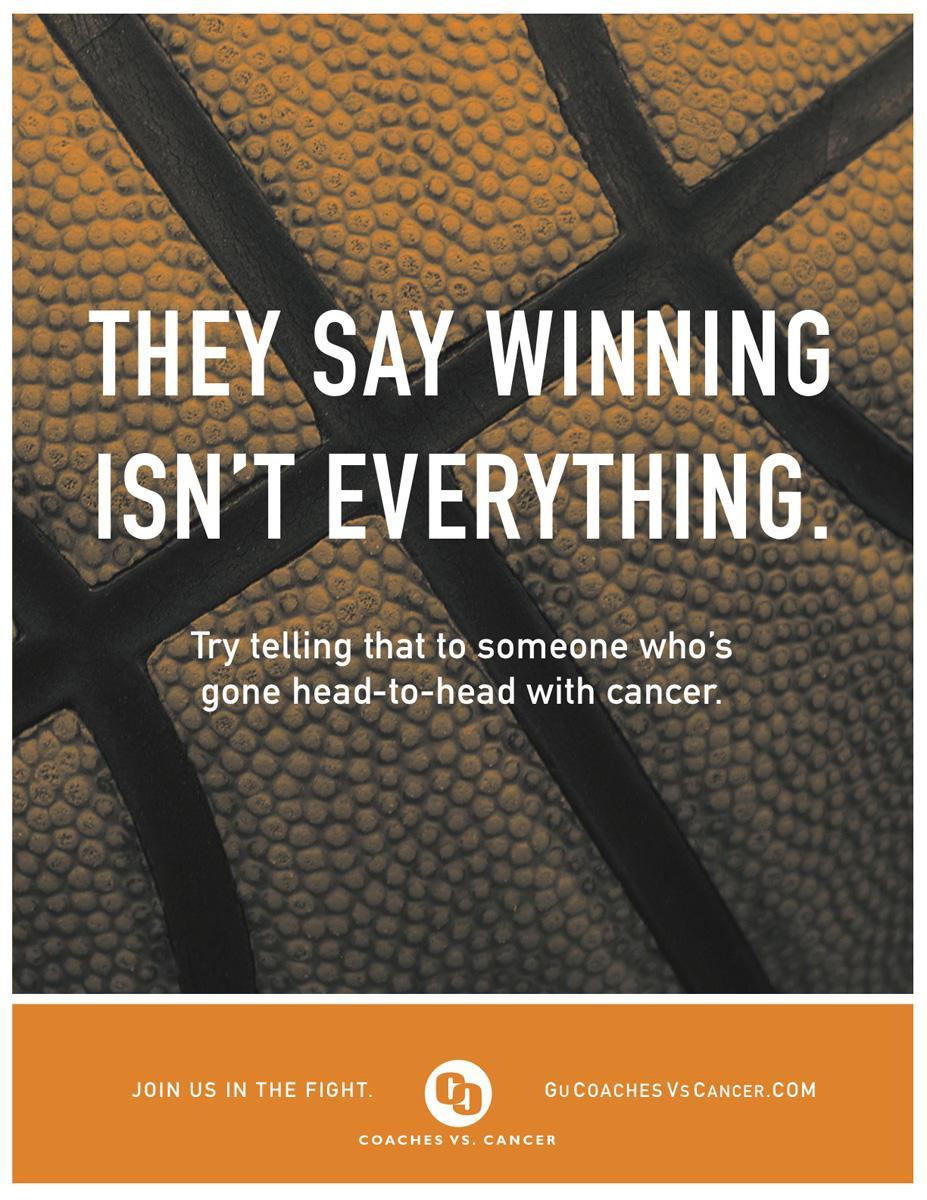 Coaches vs. Cancer Print Ad -  Head-to-head