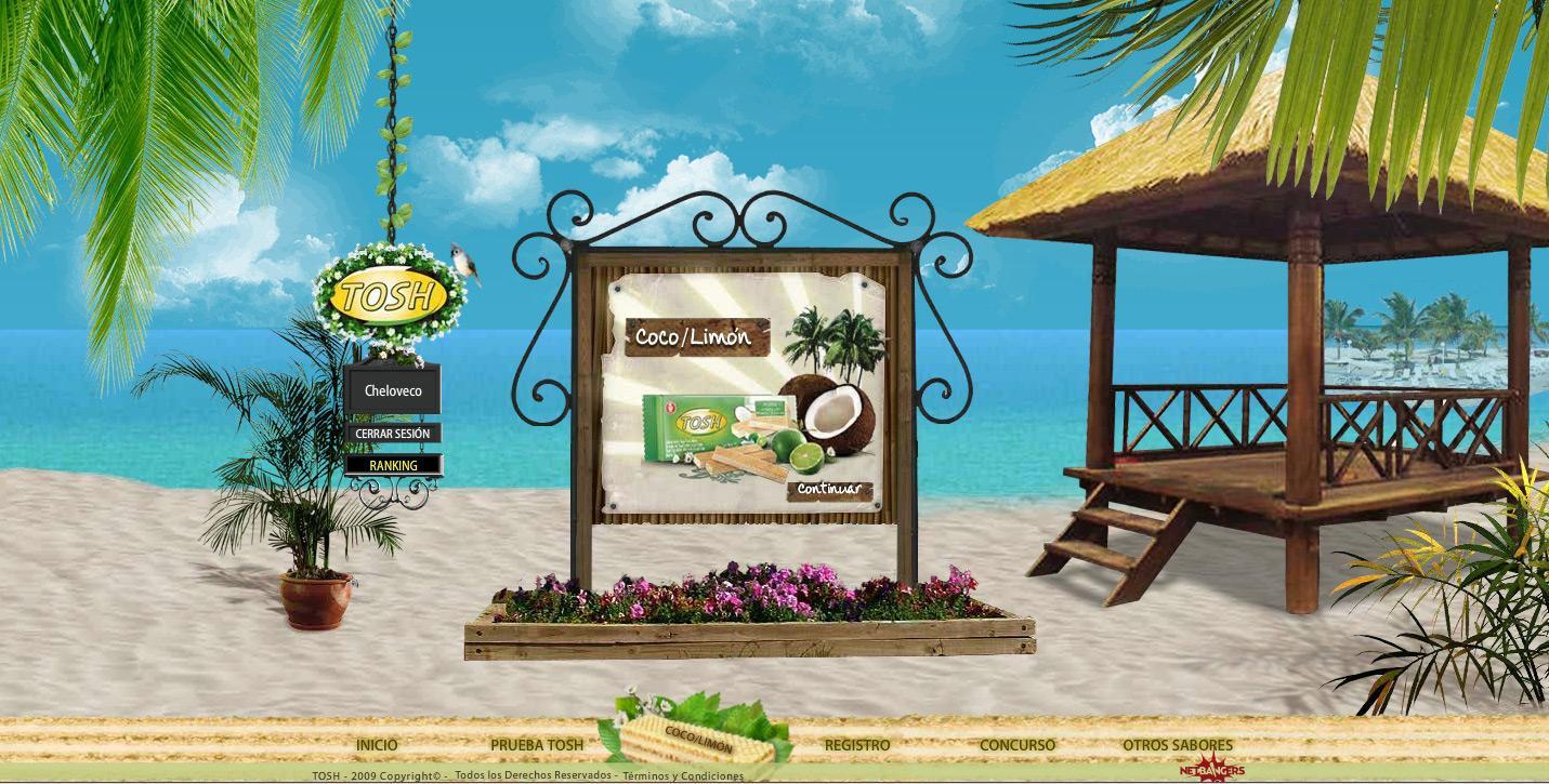 Tosh Digital Ad -  Beach