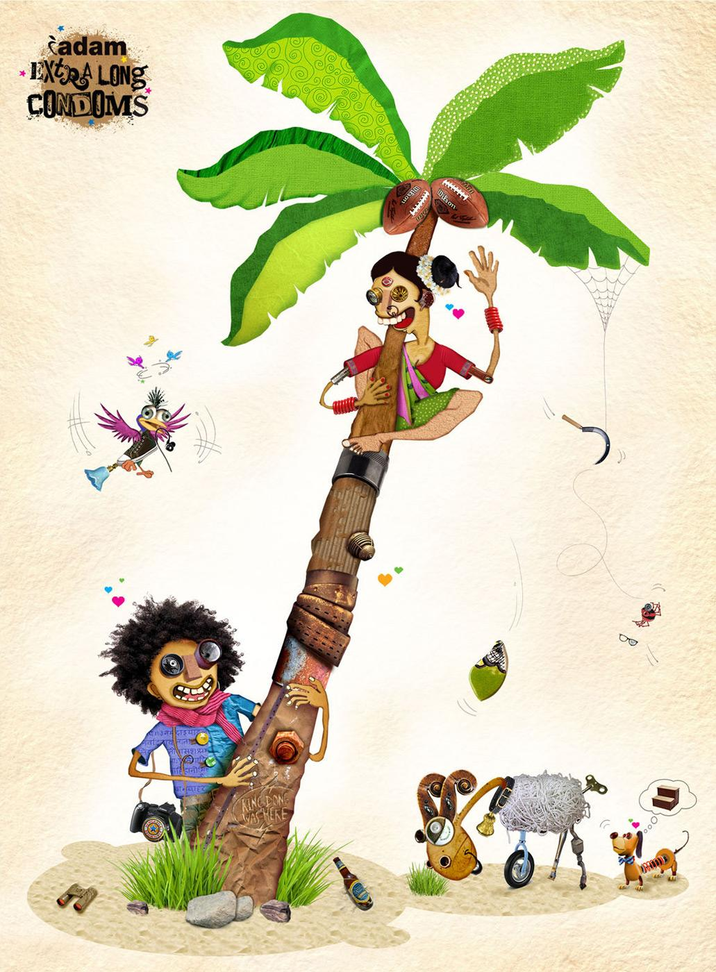 Dr Morepen Print Ad -  Coconut tree