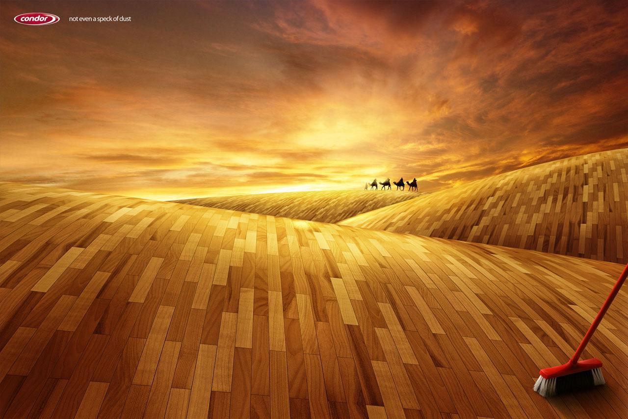 Condor Print Ad -  Desert