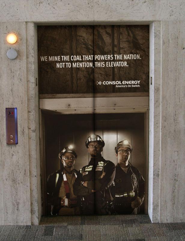 Coal Flag, Elevator